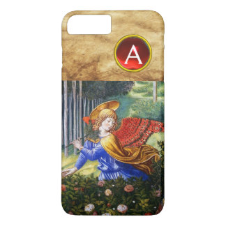 Angels Gathering Flowers in a Heavenly Landscape iPhone 7 Plus Case