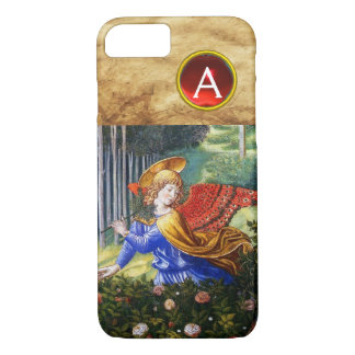 Angels Gathering Flowers in a Heavenly Landscape iPhone 8/7 Case
