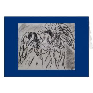 """Angels"" Greeting Card"