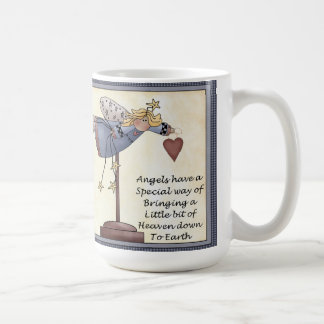 Angels Have A Way Classic 15 oz. White Mug