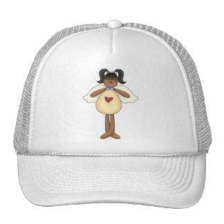 Angels Heart Mesh Hats