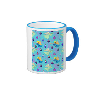 Angels in Blue – Ornaments & Trumpets Coffee Mugs