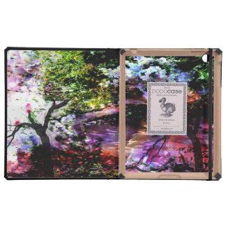 Angels in Monet s garden Cases For iPad