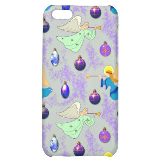 Angels in Silver – Ornaments & Trumpets iPhone 5C Cases
