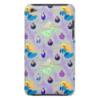 Angels in Silver – Ornaments & Trumpets iPod Touch Case