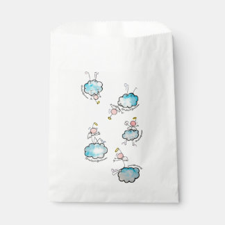 Angels in the clouds favour bags