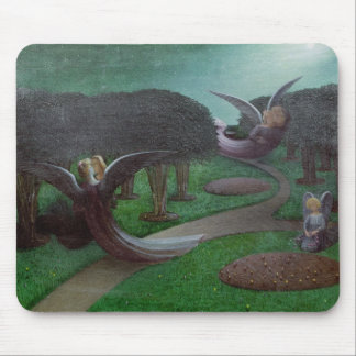 Angels in the Night, 1896 Mouse Mat