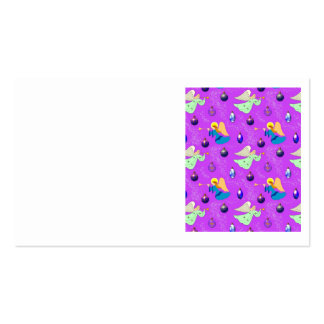 Angels in Violet – Ornaments & Trumpets Double-Sided Standard Business Cards (Pack Of 100)