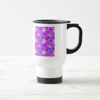 Angels in Violet – Ornaments & Trumpets Mug