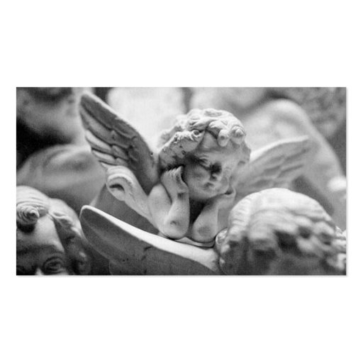 Angels In Waiting Business Card Template
