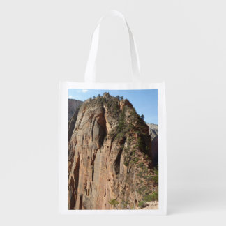 Angels Landing at Zion National Park Reusable Grocery Bag
