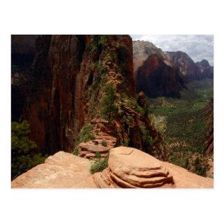 Angels Landing Trail postcard