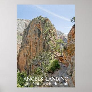 Angels Landing, Zion NP Print
