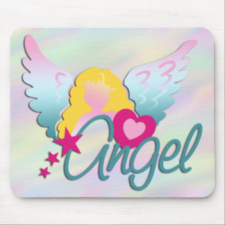 Angels Love | light coloured Mouse Pad
