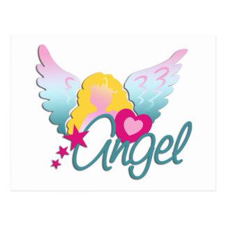 Angels Love Postcard