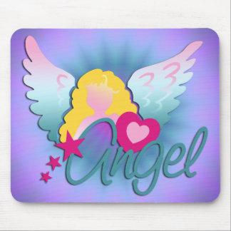 Angels Love | violet shine Mouse Pad