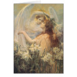 Angel's Message, Swinstead, Vintage Victorian Art Greeting Cards