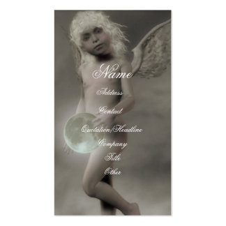 Angels Moon Double-Sided Standard Business Cards (Pack Of 100)