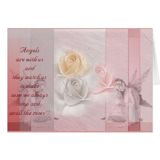 Angels n roses card
