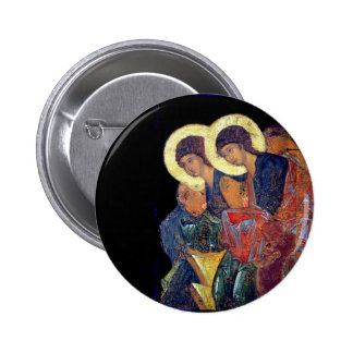 Angels of Annunciation 6 Cm Round Badge