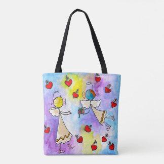 Angels on a bag