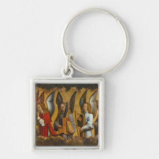 Angels Playing Musical Instruments Key Ring