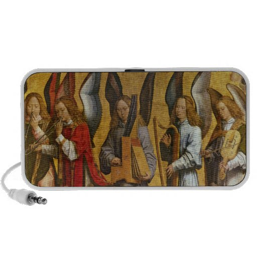 Angels Playing Musical Instruments Mini Speakers