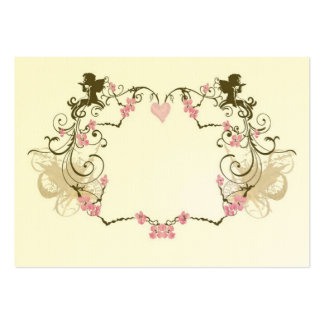 Angels Profile Card Large Business Cards (Pack Of 100)