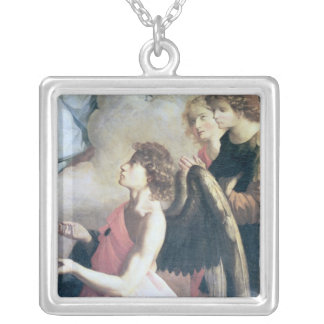 Angels Silver Plated Necklace