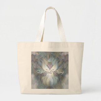 Angels Sing Large Tote Bag