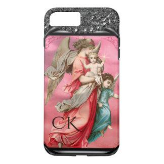 Angel's Testimony Christmas  Monogram iPhone 8 Plus/7 Plus Case