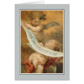 Angels, The Immaculate Conception, Murillo Greeting Card