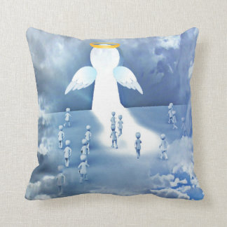 angels throw cushions