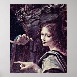 Angels 'Uriel' by Leonardo di ser Piero da Vinci Poster