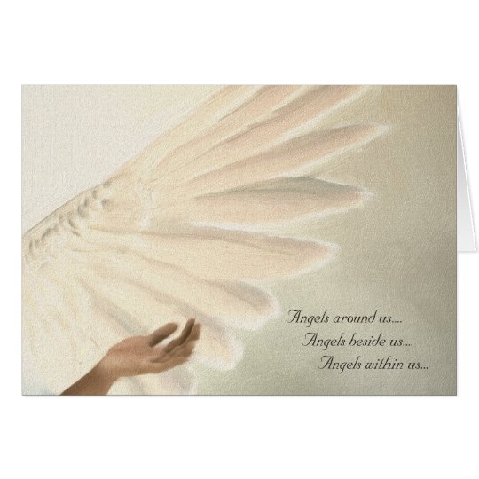 Angels Wings Greeting Card - Custom Order Template