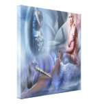 Angels - Wrapped Canvas Canvas Prints
