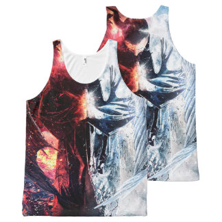 """Angelz & Demonz"" Locster T-Top All-Over Print Tank Top"