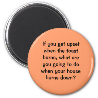 anger food for thought refrigerator magnets