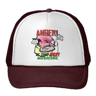Anger is the Best Medicine Cap