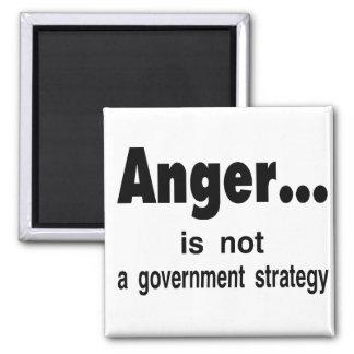 anger refrigerator magnet