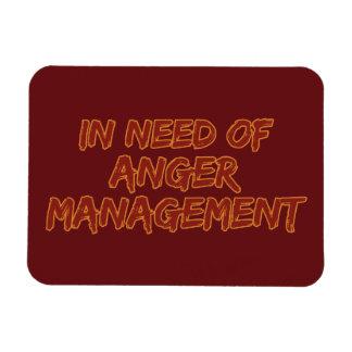 Anger Management custom color magnet