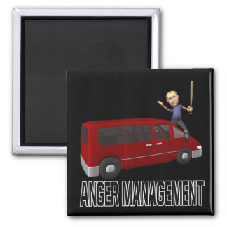 Anger Management Fridge Magnet