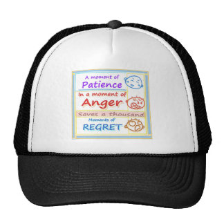 Anger Management : Motivational Moments Cap