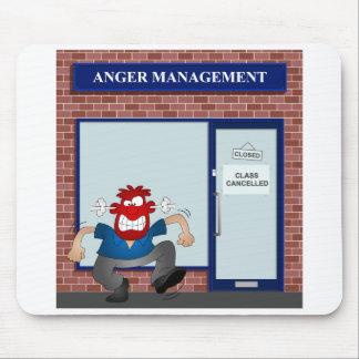Anger management mouse mat