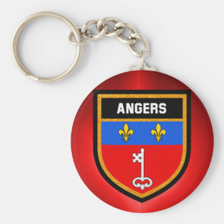 Angers Flag Key Ring