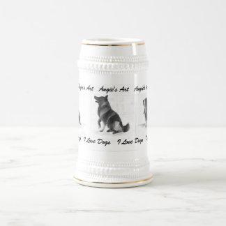 Angie s Art I love Dogs Mug