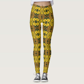 Angie's Showy Gold Helenium Leggings