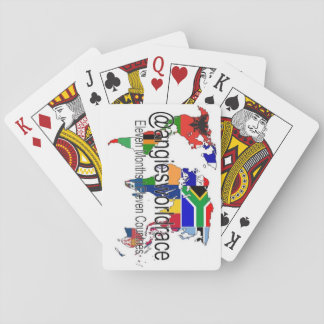 @angiesworldrace Playing Cards - White