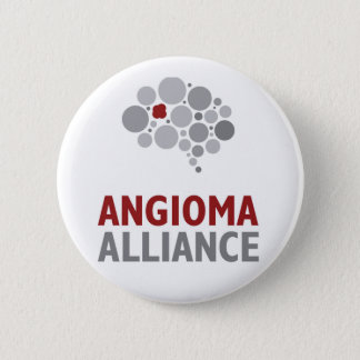 Angioma Alliance Logo Gear 6 Cm Round Badge