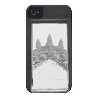 Angkor Cambodia, Angkor Wat Doorway View iPhone 4 Cover